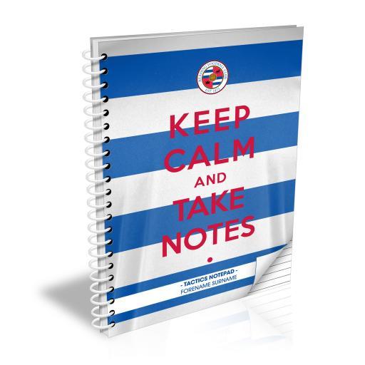 Reading FC Keep Calm Notebook