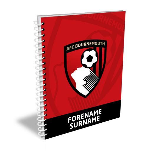 AFC Bournemouth Bold Crest Notebook