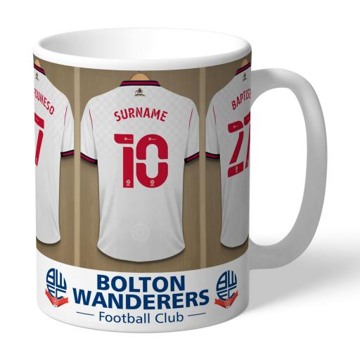 Bolton Wanderers FC Dressing Room Mug