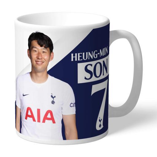 Tottenham Hotspur Son Autograph Mug