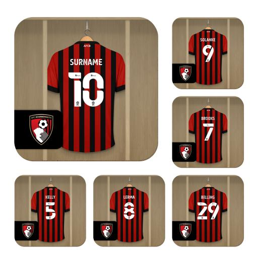 AFC Bournemouth Dressing Room Coasters