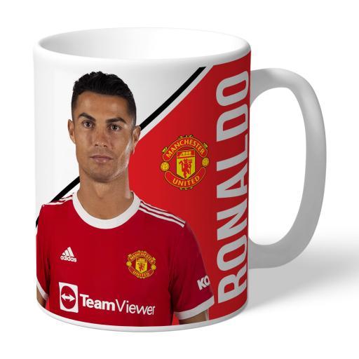 Manchester United FC Ronaldo Player Mug