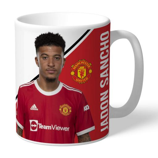Manchester United FC Sancho Autograph Mug