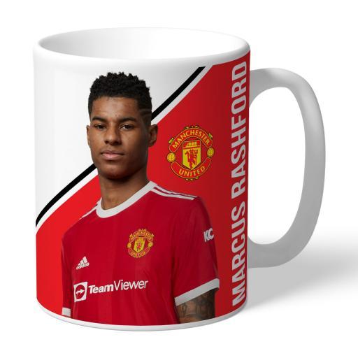 Manchester United FC Rashford Autograph Mug