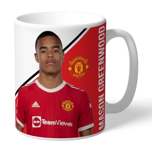 Manchester United FC Greenwood Autograph Mug