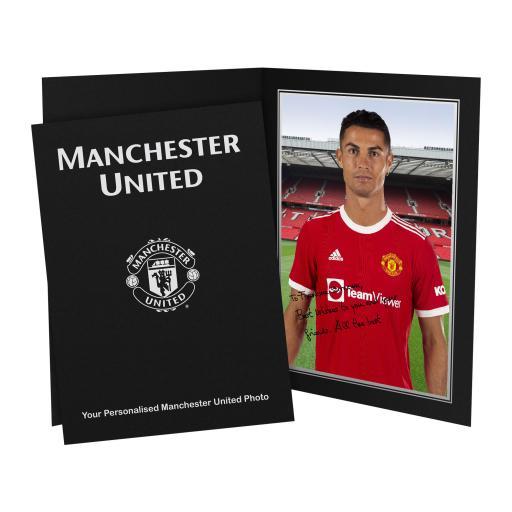 Manchester United FC Ronaldo Player Photo Folder