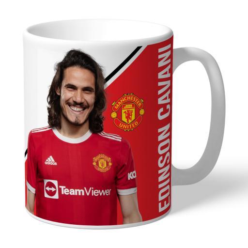 Manchester United FC Cavani Player Mug