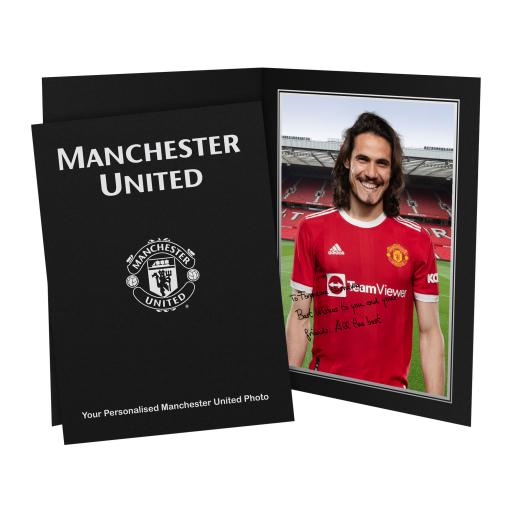 Manchester United FC Cavani Player Photo Folder